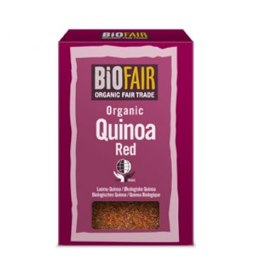 Organic Fair Trade Red Quinoa Grain Healthista Shop Web