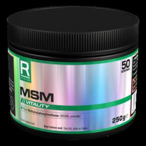 Reflex MSM (Methylsulfonylmethane) 250g healthista shop