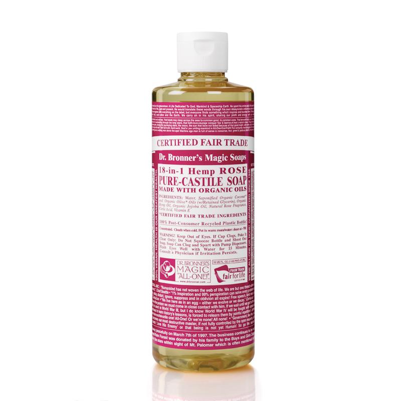 Rose Castile Liquid Soap
