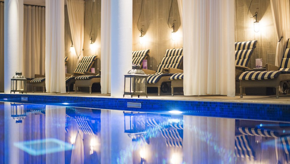 Poolside Cabanas Spa of the Week: Salcombe Harbour Hotel and Spa, Devon Healthista