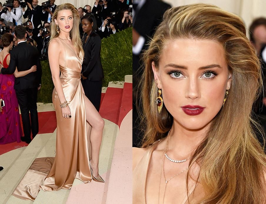 amber heard, 3 red carpet beauty looks The make-up artist reveals how-to, by healthista (2)