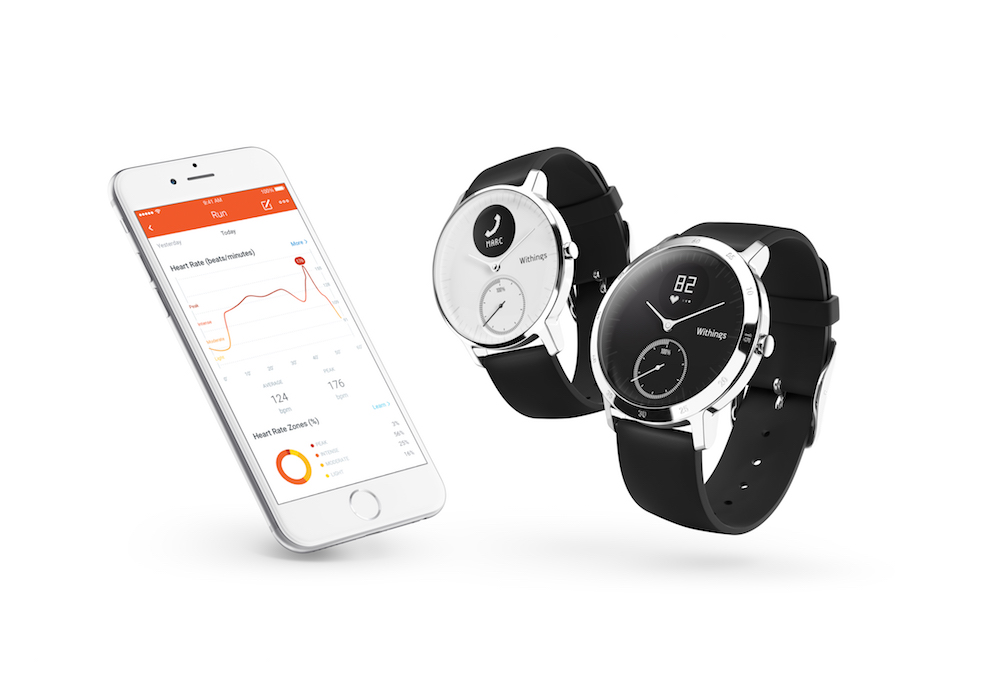 best fitness trackers. withings steel hr. healthista