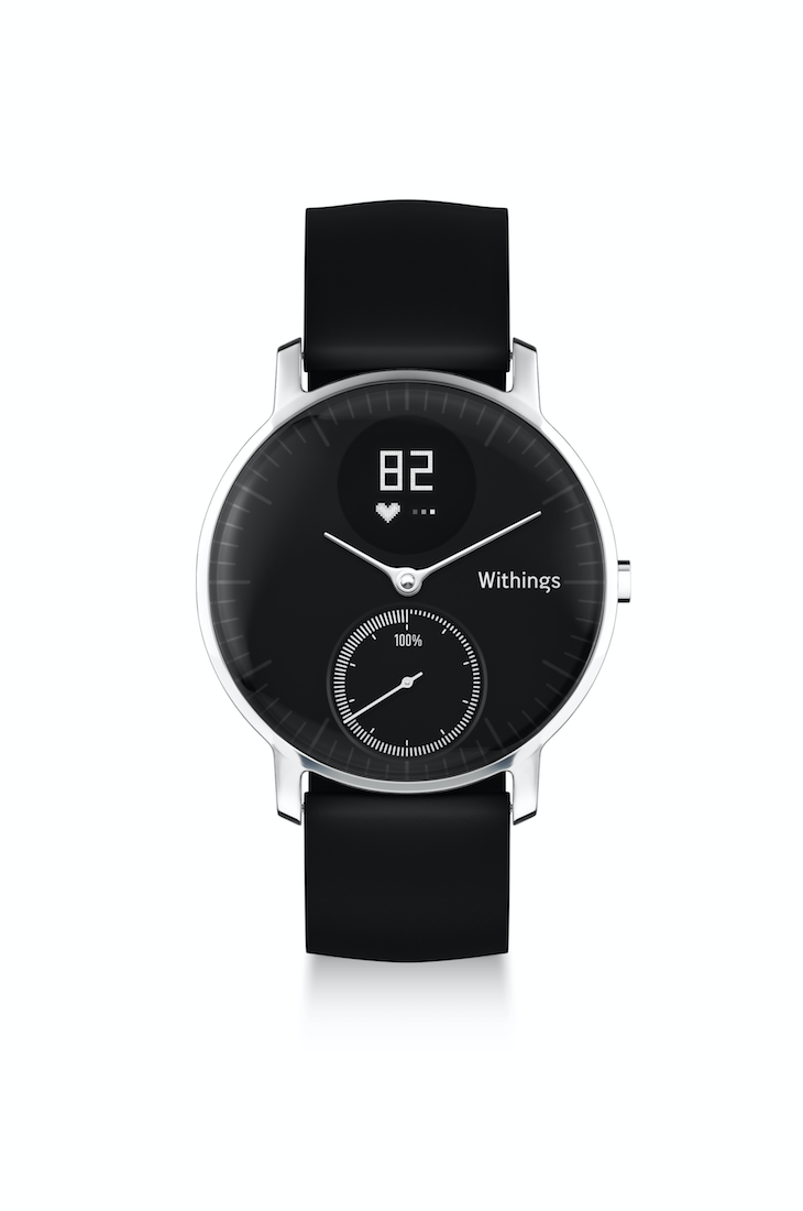 best new stylish fitness trackers. withings steel hr. Healthista