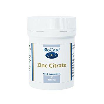 biocare zinc citrate healthista shop