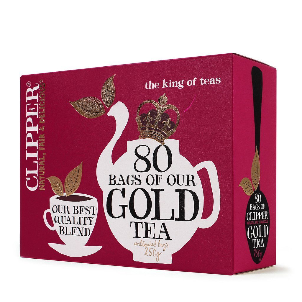 clipper everyday gold tea, best fairtrade foods, by healthista.com