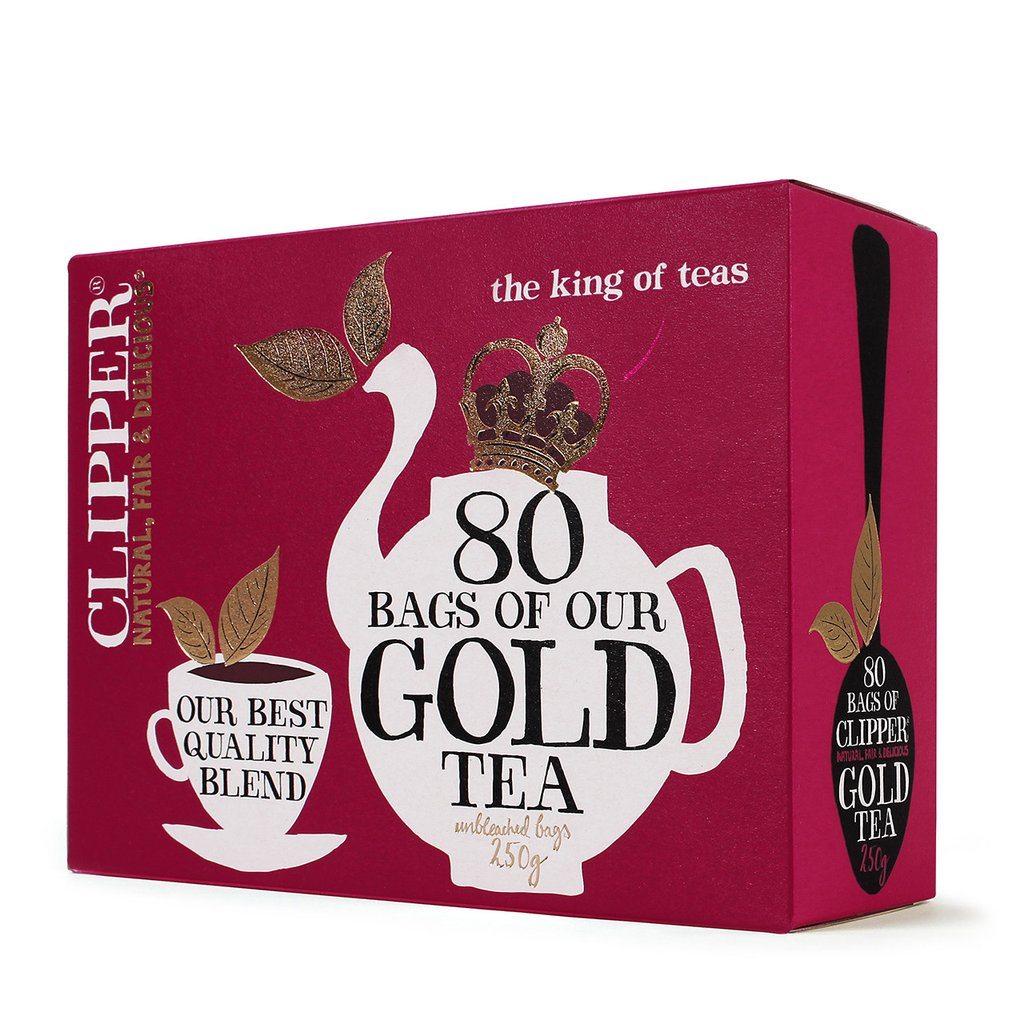 clipper everyday gold tea, best fairtrade foods, by healthista.com