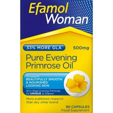 efamol woman pure evening primrose oil 500mg healthista shop