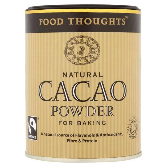 food thoughts natural cacao, best fairtrade foods cupboard essentials, by healthsita.com