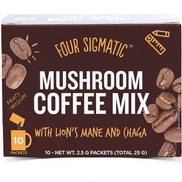 four sigmatic foods mushroom coffee mix lions mane and chaga healthista shop