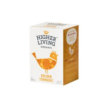 higher living golden tumeric tea healthista shop