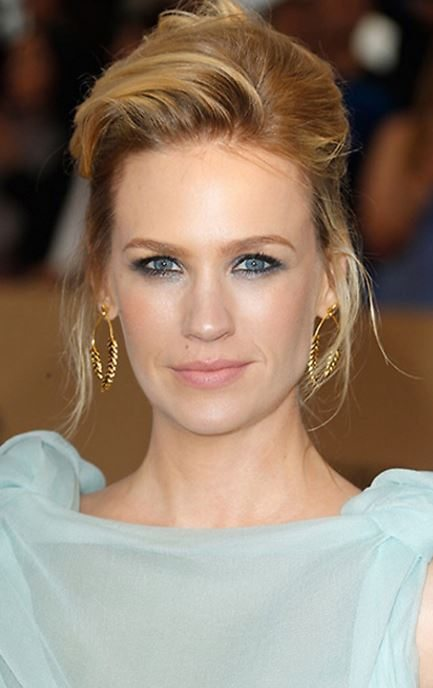 january jones, 3 red carpet beauty looks The make-up artist reveals how-to, by healthista.com