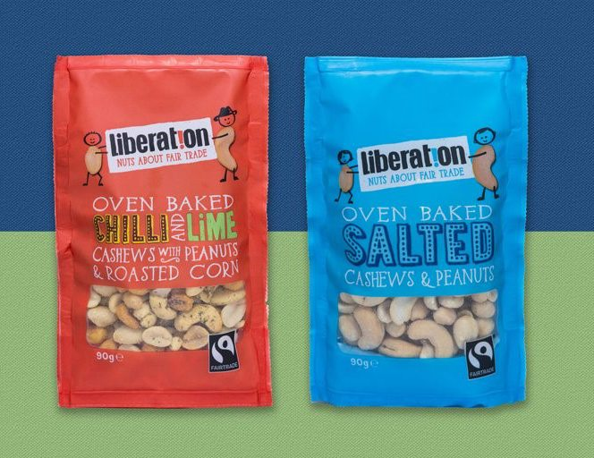 liberation nuts, best fairtrade foods for cupboard essentials, by healthista.com