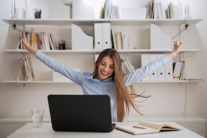 making v position at desk, 8 best ways to be the most powerful version of you on International Women's Day by healthista