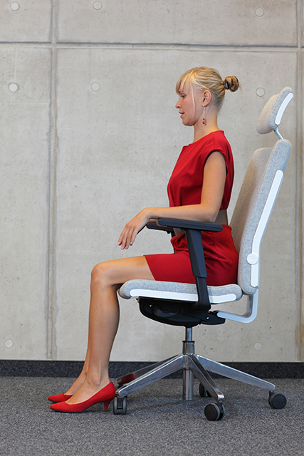 sitting up in chair, 8 best ways to be the most powerful version of you on International Women's Day by healthista