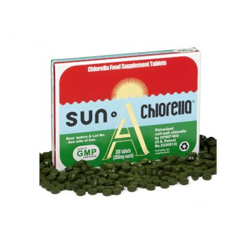 sun chlorella 300 healthista shop