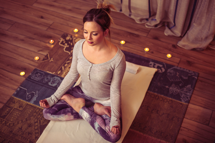 yoga breathing, 8 best ways to be the most powerful version of you on International Women's Day by healthista