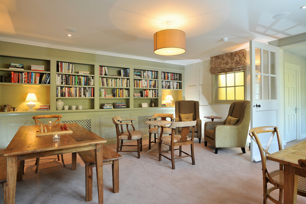 ConghamHall_Library Spa of the week: Congham Hall, Norfolk, England Healthista