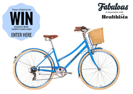 fabulous healthista diet survey raleigh bike giveaway