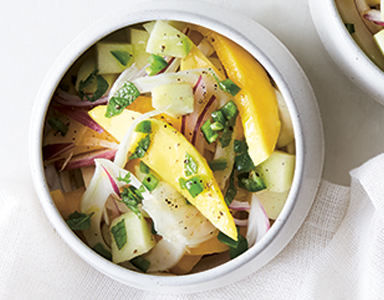 mango chilli featured, meat-free Monday recipe chilli and mango bowl healthista