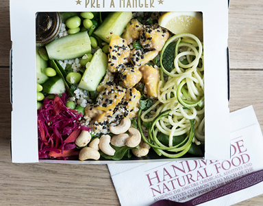 pret featured,Pret A Manger's Spring Menu has just landed - here's our review by healthista