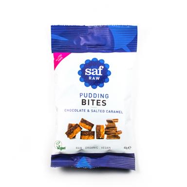 saf pudding bites caramel, WE LOVE SAF raw snacks by healthista