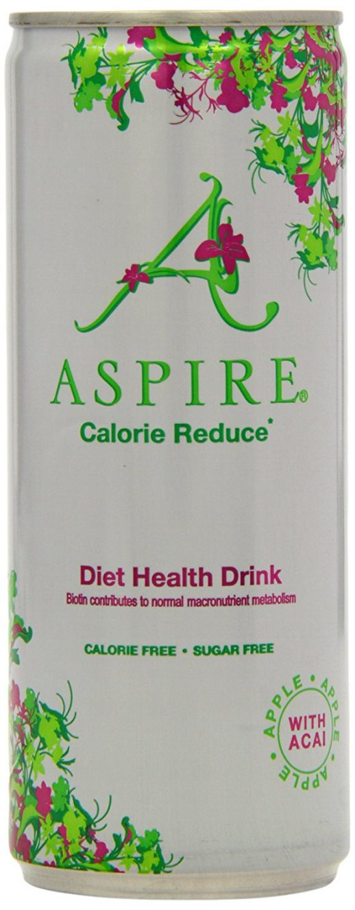Aspire Premium Apple with Acai Green Tea Healthy Energy Drink
