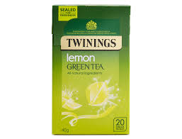 Twinings Lemon Green Tea, 9 best tasting green teas for beginners, by healthista.com