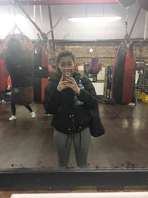 boxing selfie, Power of Boxing I trained like a boxer for six weeks and this is what happened by healthista