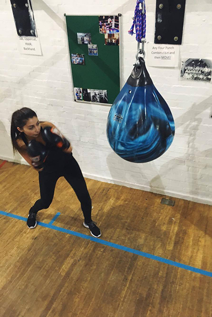dodging bag, I trained like a boxer for six weeks and this is what happened by healthista