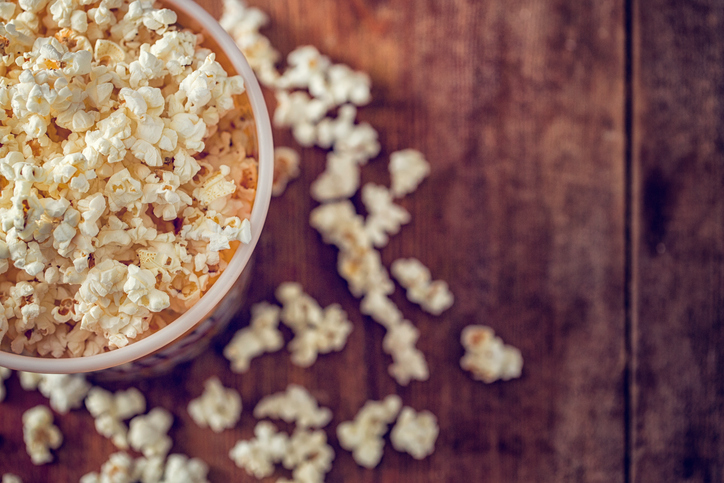 is popcorn terrible for sugar free diet