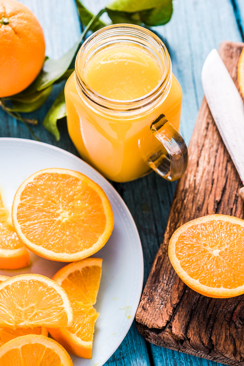 squeezed orange juice, secrets of doctors with beautiful skin by healthista