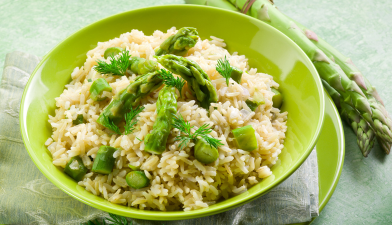 How to cook healthy for beginners, spring green pilaf, posh rice, by healthsita.com (2)