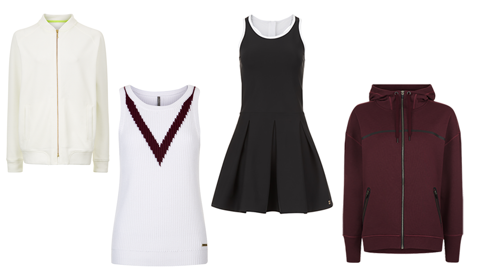 Sweaty Betty mood board, Dress like a Wimbledon pro in this stylish tennis kit by healthista