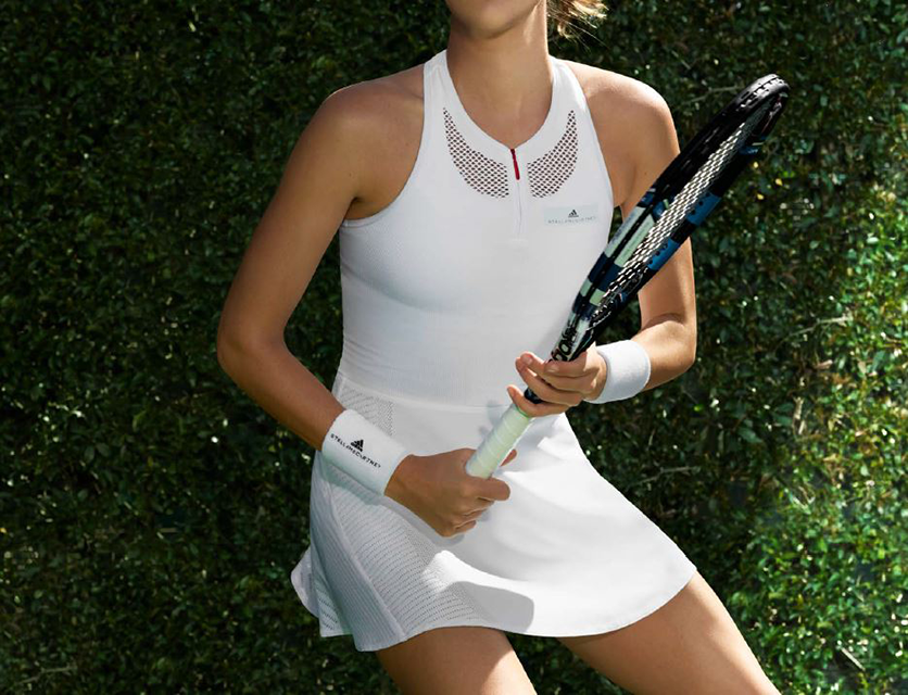 adidas stella McCartney tennis dress, Dress like the Wimbledon pro with this stylish tennis kit by healthista