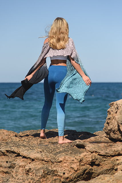 blue leggings, KITSPIRATION ILU Fitwear by healthista
