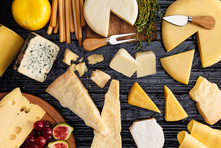 cheese board Eating by colour the Mediterranean way by healthista
