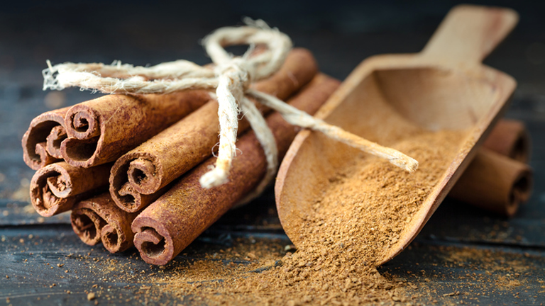 cinnamon, 11 superfoods for sleep that can wake you up feeling fresher after a healthy nights sleep by healthista.com