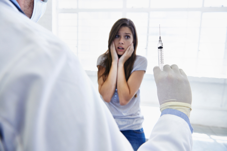 needle phobia, REVIEWED Vitamin Injections London by healthista