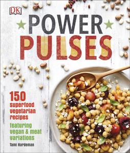 power pulses book jacket, vegetarian recipe of the week pigeon pea samosa bake by healthista