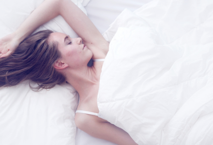 sleeping in bed, 11 superfoods for sleep that can wake you up feeling fresher after a healthy nights sleep by healthista.com