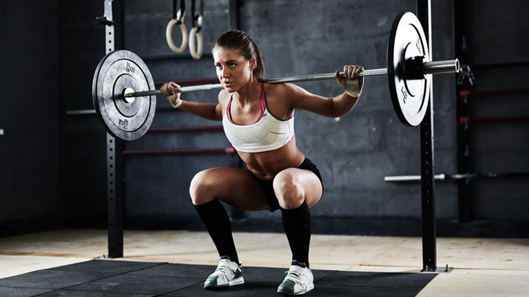 squat, yoga for weightlifters by healthista.com