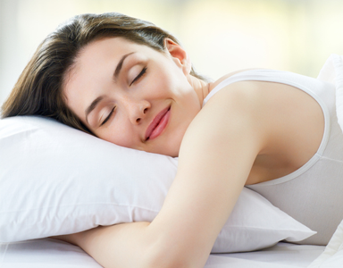 woman asleep, 11 superfoods for sleep that can wake you up feeling fresher after a healthy nights sleep by healthista.com