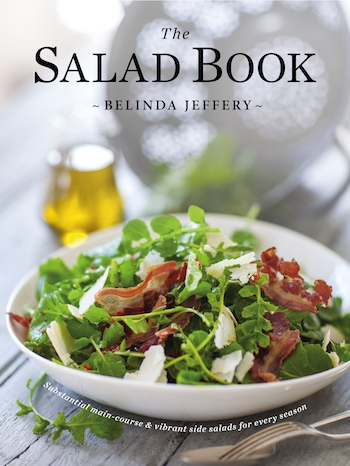 Belinda Jeffery Salad Book cover healthista