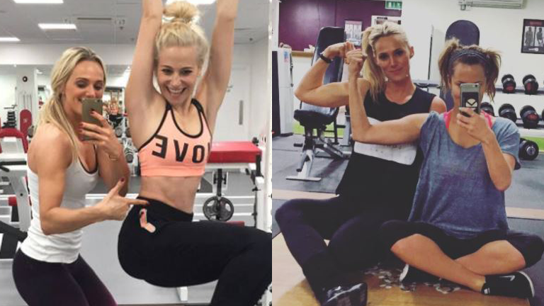 Celebrity trainer secrets Confidence comes from strength training three times a week, says PT to Caroline Flack and Pixie Lott (4)