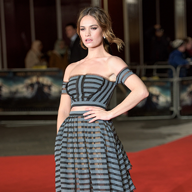Lily James featured, Celebrity trainer secrets Lily James James Farmer by healthista