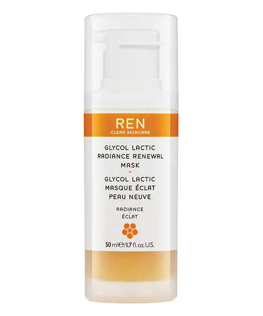 ren glycol actic renewal face mask abigail james my natural beauty essentials by healthista