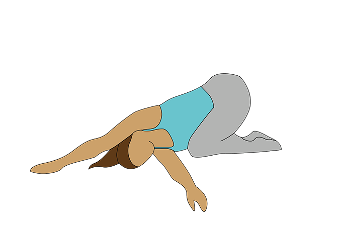 back stretch, Katarina Johnson Thompson athlete's workout for non-athletes by healthista
