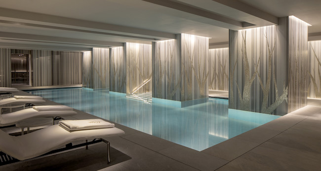 Spa of the week four seasons spa trinity square london healthista for Female only swimming pool london