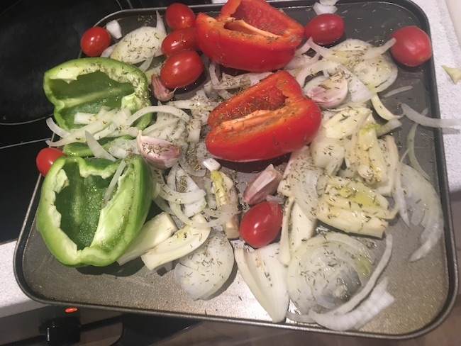 hannah fennel peppers pre-roast cooking healthy for beginners by healthista.com body2
