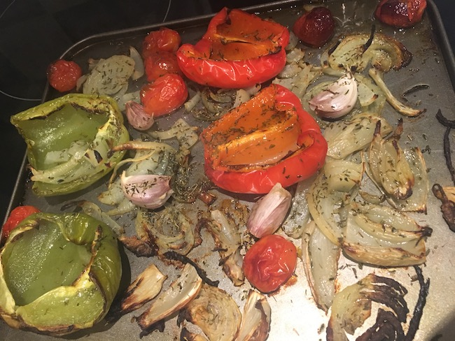 hannah roasted fennel pepper cook healthy for beginners by healthista.com body1